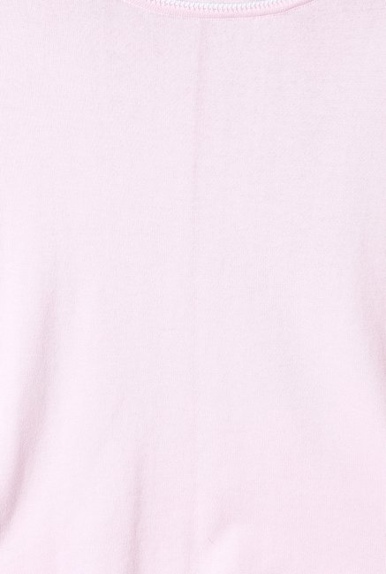 Solly by Allen Solly Pink Solid Top