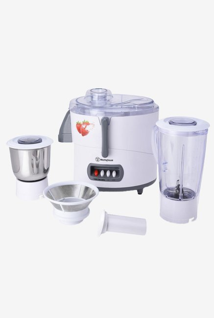 Westinghouse JE45WW2A-DS 450 W Juicer Mixer Grinder (White)
