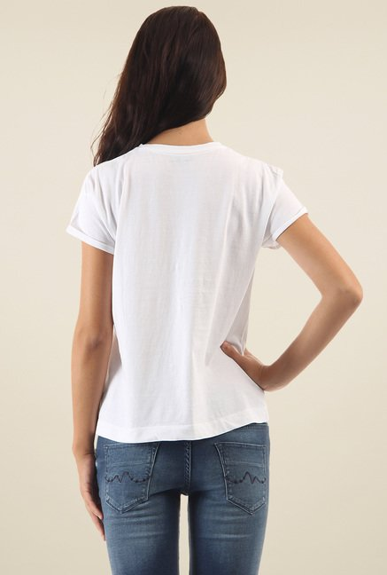 Pepe Jeans White Short Sleeves T-Shirt