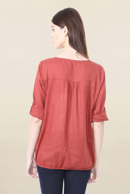 People Rust Solid Top
