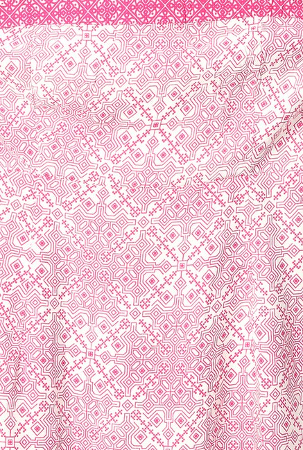 People Pink Printed Kurta