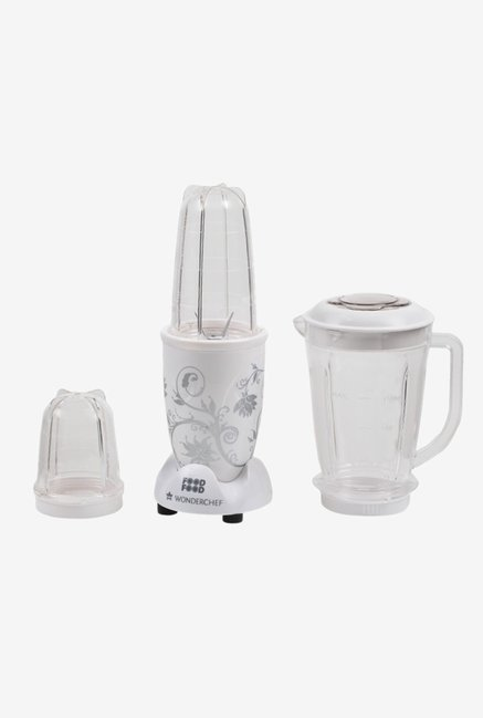Wonderchef Nutri blend 400 W Juicer Mixer Grinder  White