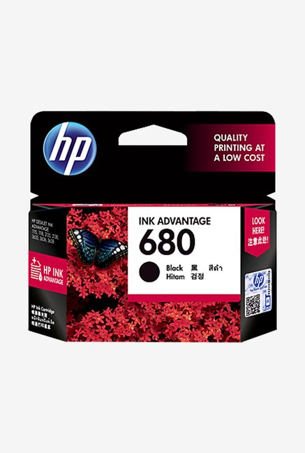 HP 680 F6V27AA Ink Cartridge Black