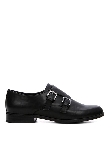 Aldo Joie Black Monk Shoes
