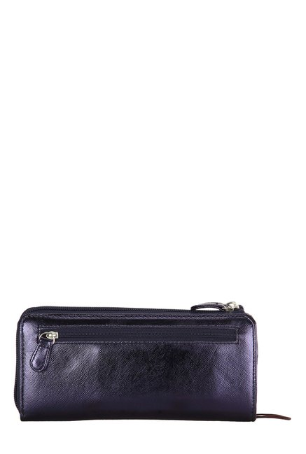 Lavie Isabel Navy Solid Wallet