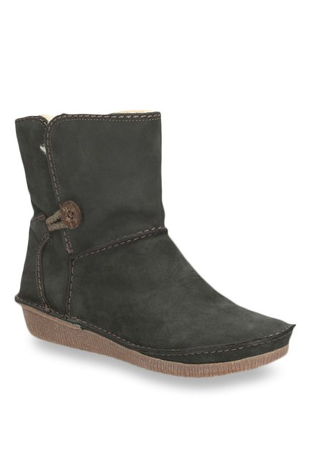 Clarks Lima Caprice Black Snow Boots