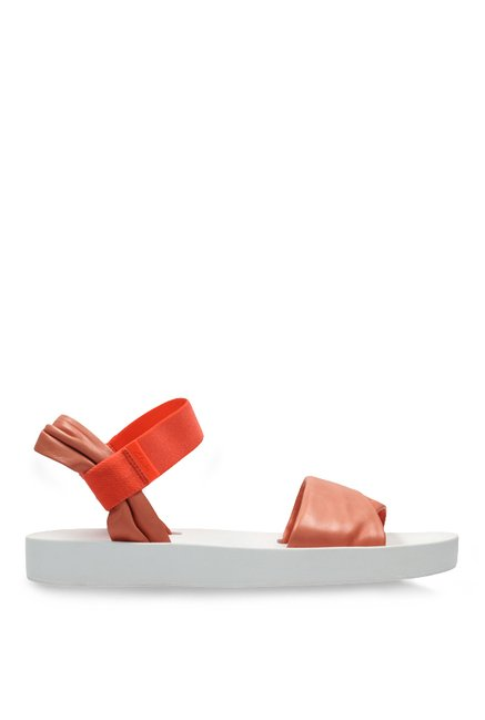b58b4ffdaa7a Buy Clarks Seanna Sun Coral   Orange Sling Back Sandals for Women at ...