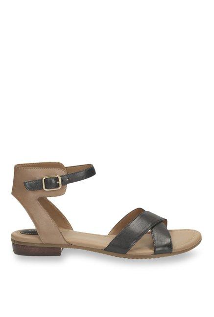9bda511f3 Buy Clarks Viveca Zeal Black Ankle Strap Sandals for Women at Best ...