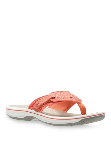 02fbec4bfcca90 Buy clarks brinkley quade coral thong sandals for women at best jpg 437x649 Clarks  sandals coral