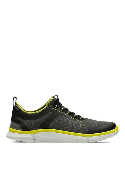 12dfb8a6fbc Buy Clarks Triken Active Black   Grey Running Shoes for Men at Best Price    Tata CLiQ