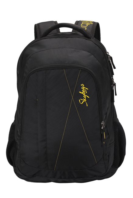 74e7f5cb854d Buy Skybags Footloose Gizmo 2 Black Laptop Backpack Online At Best Price    Tata CLiQ