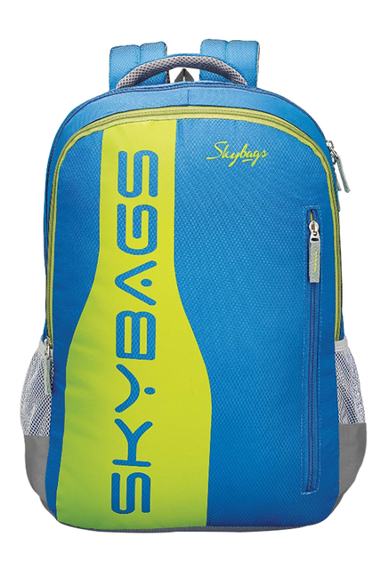 Skybags Footloose Colt Plus 04 Blue & Green Backpack