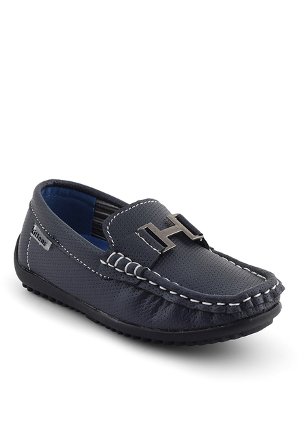 Kittens Kids Navy Casual Loafers