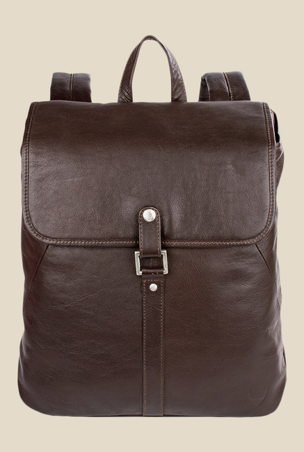 Hidesign Brosnon 01 Brown Leather Laptop Backpack