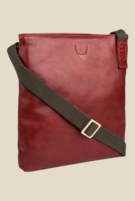Hidesign Bonnie Red Leather Sling Bag