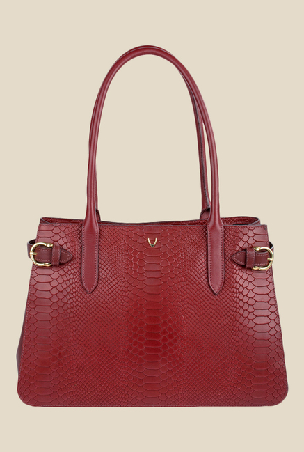 Hidesign Shanghai 01 SB Red Leather Shoulder Bag
