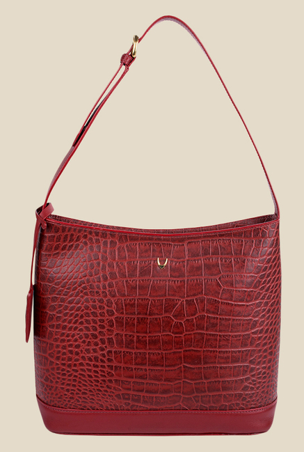 Hidesign Berlin 03 SB Red Leather Shoulder Bag