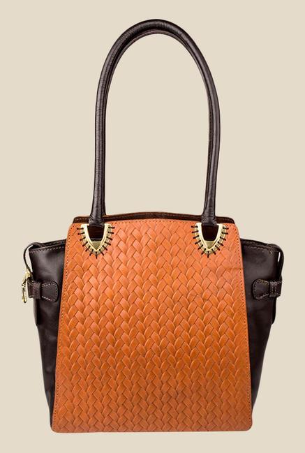 Hidesign Ee Liya 01 Tan Leather Shoulder Bag