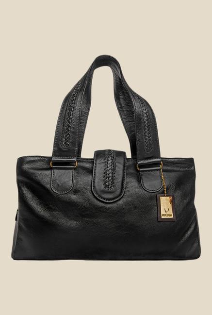 Hidesign Nolan (1416) Black Leather Shoulder Bag