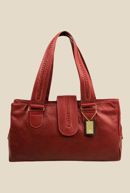 Hidesign Nolan 1416 Red Leather Shoulder Bag