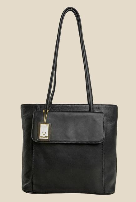 Hidesign Tovah 4310 Black Leather Shoulder Bag