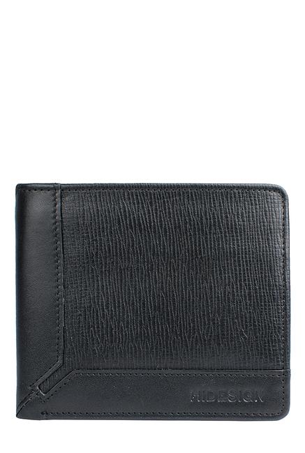 Hidesign 290 36 Black RFID Leather Wallet
