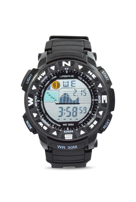Maxima U-35032PPDN Quartz Black Round Men's Watch (U-35032PPDN)