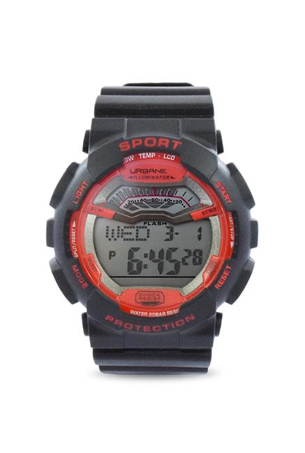 Maxima Quartz Silver Round Men's Watch, U-35000PPDN