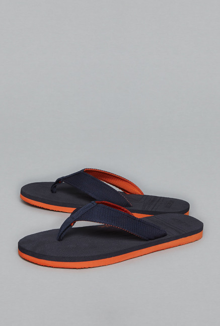 49a2b530d65 Buy Soleplay by Westside Navy Thong Flip Flops For Men Online At Tata CLiQ