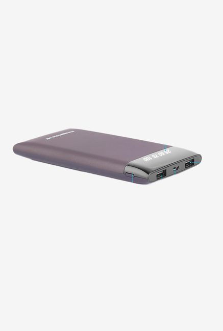 Ambrane Plush PP10 10000 mAh Power Bank (Grey)