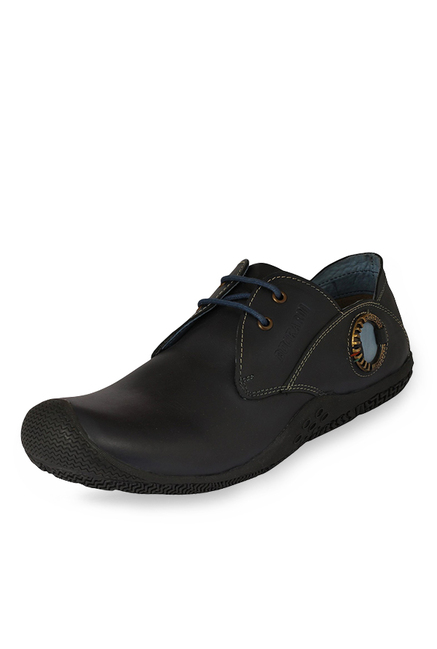 Buckaroo New Connor Navy Derby Shoes