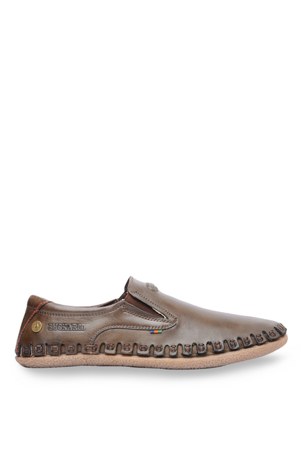 Buckaroo New Rey Dark Brown Slip-Ons