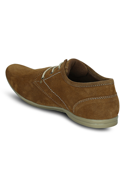 Get Glamr Geraro Tan Derby Shoes