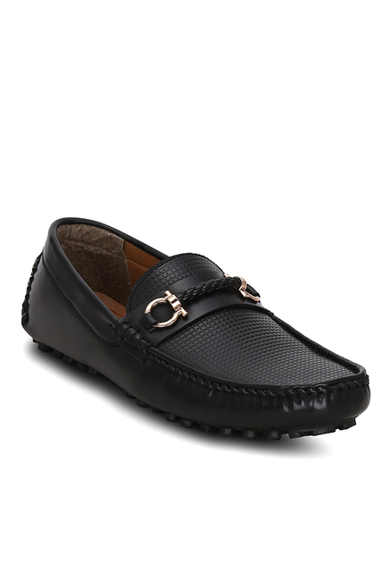 Get Glamr Danforth Black Loafers