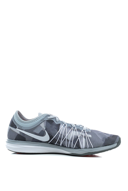 Nike Dual Fusion Grey & White Running Shoes