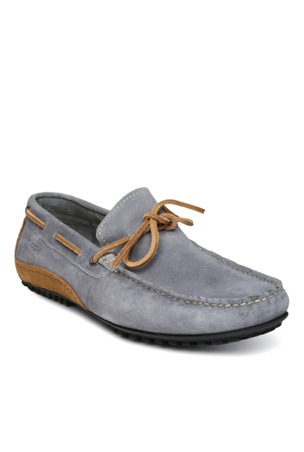 Ruosh Grey Boat Shoes