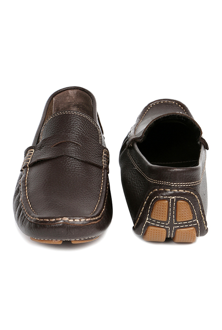 Ruosh Dark Brown Loafers