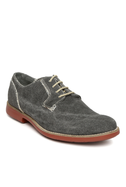 Ruosh Grey Derby Shoes