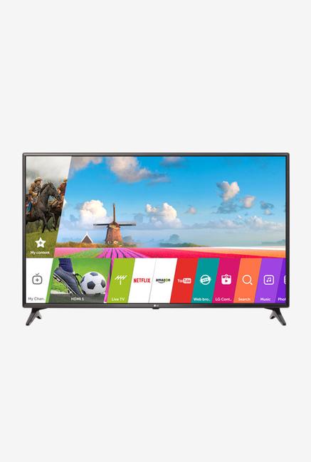 LG 43LJ617T 108cm (43) Full HD Smart TV (Black)