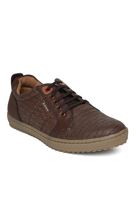 Duke Dark Brown Sneakers