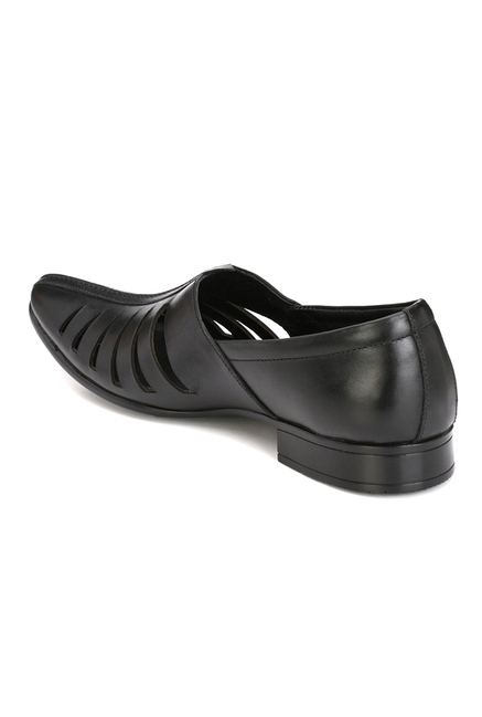 Afrojack Black Casual Slip-Ons