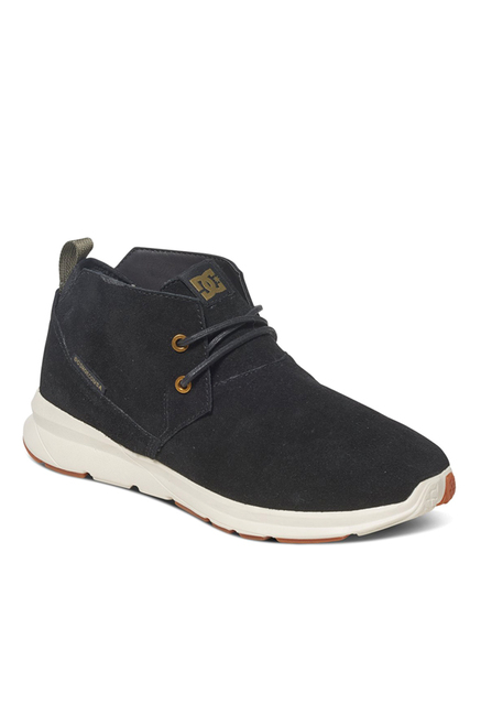DC Ashlar Black Casual Boots