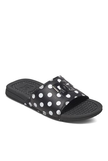 907a8cc685cf1b Buy DC Bolsa SE J Black   White Casual Sandals for Women at Best Price    Tata CLiQ