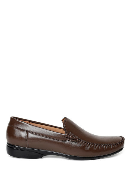 Bruno Manetti Dark Brown Loafers