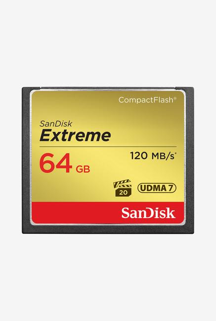 Sandisk Extreme CF 64GB (UDMA 7) 120Mbps Memory Card