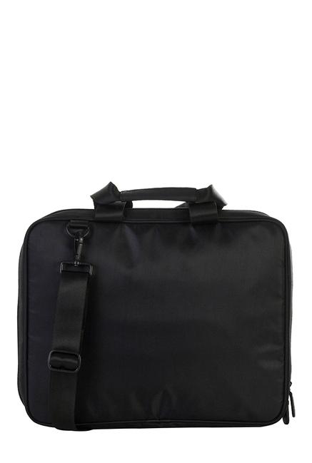 Mohawk Vault Black Solid Laptop Messenger Bag
