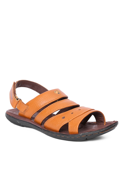 54513bd12495ce Buy Red Chief Elephant Tan Back Strap Sandals for Men at Best Price ...