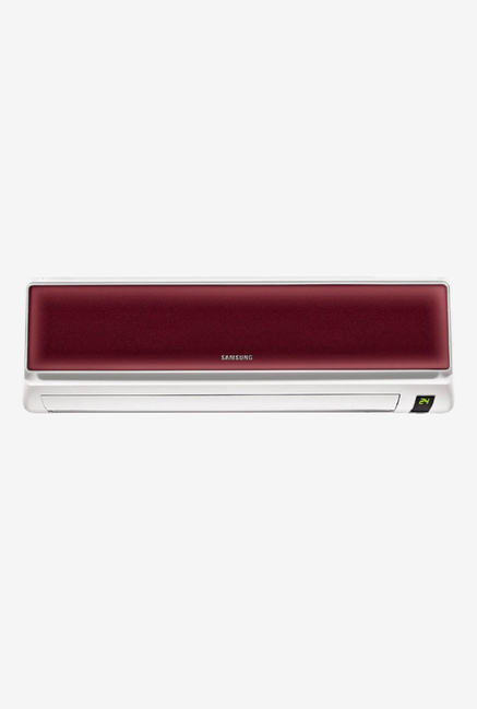 Samsung 1.5 Ton 3 Star (BEE Rating 2017) AR18JC3ESLW Split AC (Maroon)