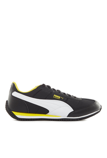 156af93a1d0 Buy Puma Velocity Tetron II IDP Black   White Sneakers for Men at Best  Price   Tata CLiQ