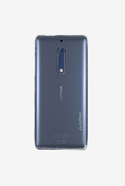 Stuffcool Pure Transparent Soft Back Case for Nokia 5